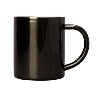 Kubek stalowy czarny